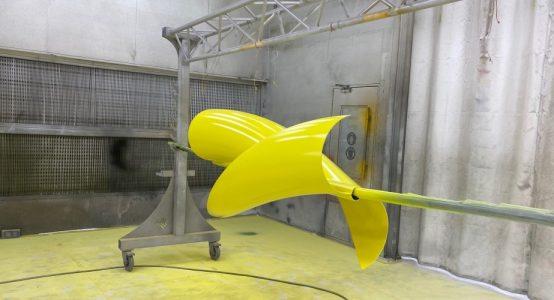 Holland-Composites-Windwokkel-van-composiet-spuitcabine-geel-1000x500
