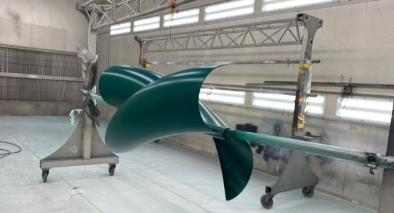 Holland-Composites-Windwokkel-van-composiet-spuitcabine-groen-1000x500