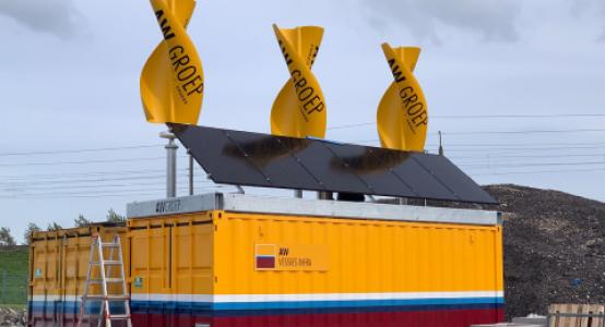 Windwokkel-van-composiet-zonnepanelen-duurzame-unit-bouwplaats_AW-Groep-GreenHybrids-Holland-Composites-480x320