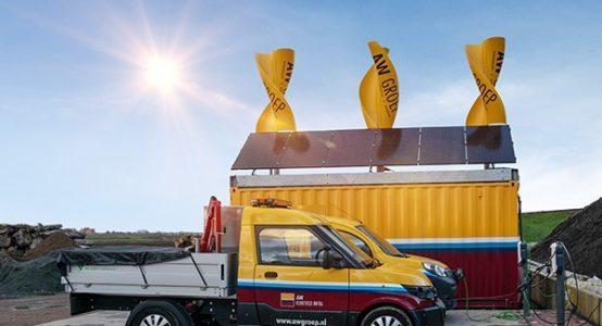 Windwokkel_Green_Hybrids-van-composiet-EnergyHub_AW-Groep-duurzame-energie-bouwplaats