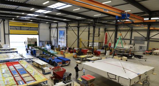 Holland-Composites-composiet-dakkoepel-Museum-Voorlinden-composite-roof-dach-dak-lichtgewicht-lightweight-autoclave-autoclaaf