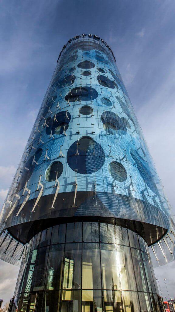 Verbundwerkstoffe Fassade Fletcher Hotel Amsterdam Holland Composites