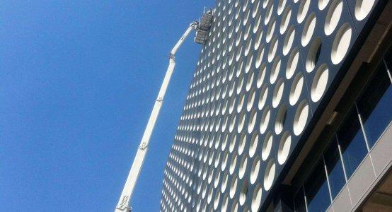 Holland-Composites-wandpaneel-gevel-bekleding-Muziekpaleis-TivoliVredenburg-Utrecht-gevel-paneel-design-facade-composiet
