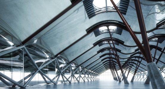 Voorbeeld: creatieve architectuur, uitvoerbaar in Duplicor brandwerend composiet