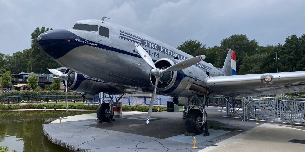Flying-Dutchman-Madurodam-Dakota-DC3-carbon-propellerbladen-restauratie-door-Holland-Composites