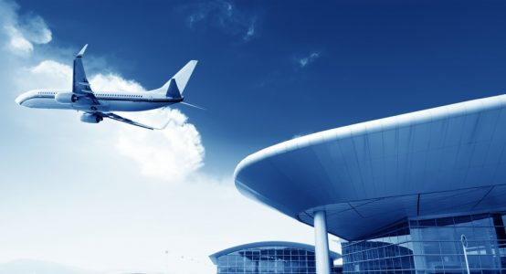 Voorbeeld luchthaven terminal - uitvoerbaar in Duplicor brandwerend composiet