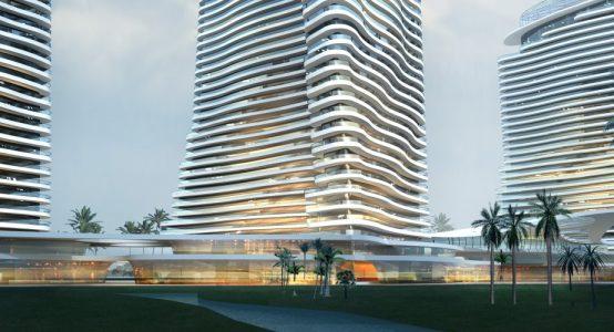 Architectonische vormgevingsvrijheid- Voorbeeld woontoren met Duplicor gevelelementen