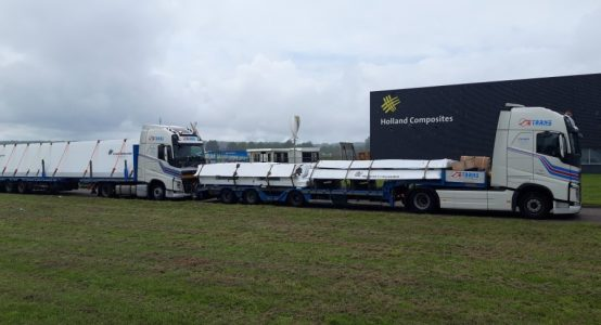 Spomenik-Domovini-Monument-van-composiet-transport-flatbed-trailers-made-by-Holland-Composites
